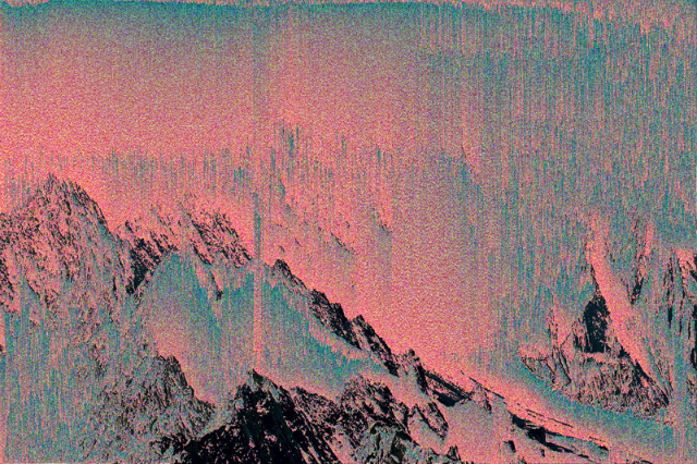 alpen-mt-blanc_1_ (from Mountain Tour series) by Kim Asendorf (via Notes on a New Nature)