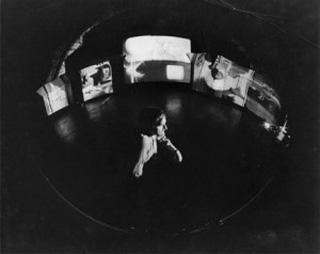 "Stan VanDerBekk, ""Movie-Drome Interior"" (1965) (via)"