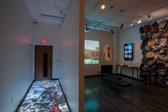 """""""State of Exception,"""" installation view"""