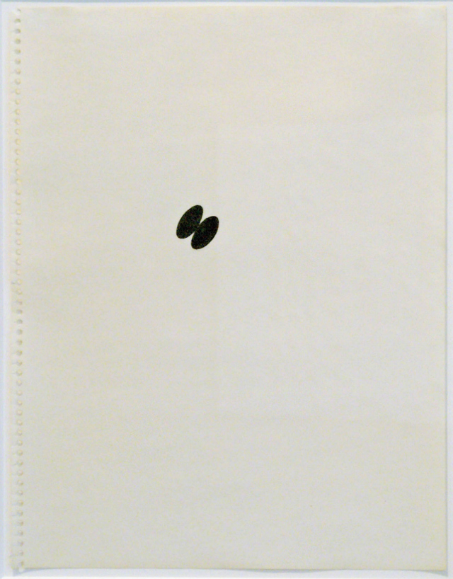 Richard Tuttle, This drawing may be...1971, Ink on paper, 14 1/8 x 11 in. (35.9 x 27.9 cm), Courtesy Vivian Horan Fine Art, New York, Booth 208.