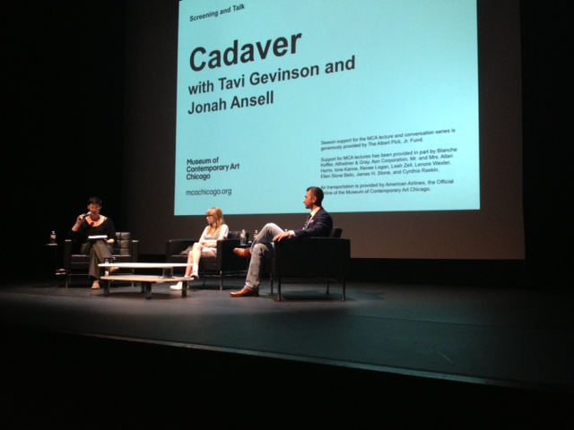 Tavi Gevinson & Jonah Ansell discuss Cadaver with the Museum of Contemporary Art Chicago's Erika