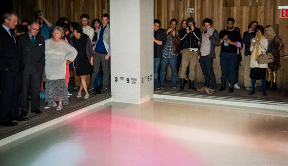 """Marco Brambilla's """"Materialization / De-Materialization"""" at Room Mate Grace Hotel (All photos by Nadia Witte for Times Square Arts)"""