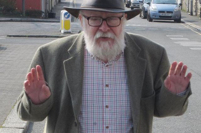 Graham Ovenden (Photo courtesy mirror.co.uk)