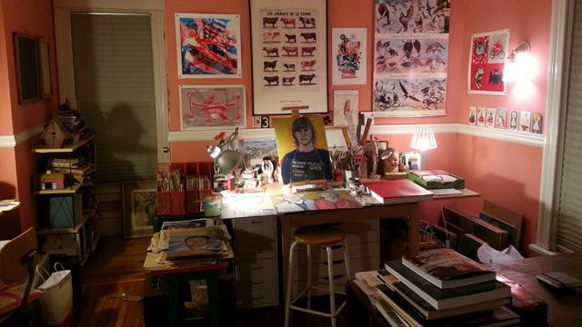 Mary Gibney studio