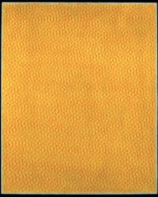 """Piero Dorazio, """"Senza Titolo"""" (1962). Oil on canvas, 39 ¾ x 32 inches.Courtesy Sperone Westwater, New York. Click to enlarge."""