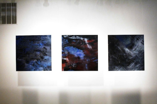 Theodore Darst, Projection Triptych (2013)