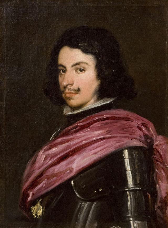"""Velázquez (Diego Rodríguez de Silva y Velázquez) (Spanish, 1599–1660), """"Duke Francesco I d'Este"""" (1638), oil on canvas, Galleria Estense, Modena (© su concessione del Ministero per i Beni e le Attività Culturali)"""
