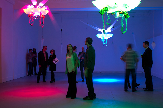 """Shih Chieh Huang, """"Luminosity"""" (2011) (Photo by Leslie Doyle)"""