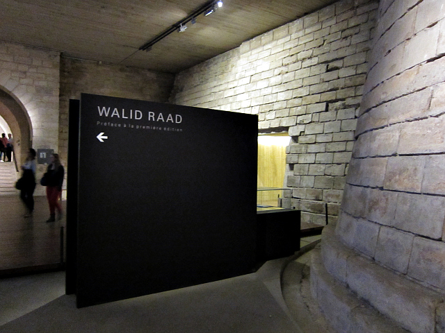 Directions to Walid Raad at the Louvre