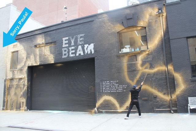 Katsu blings out Eyebeam, nailing Paula Cooper Gallery in the process