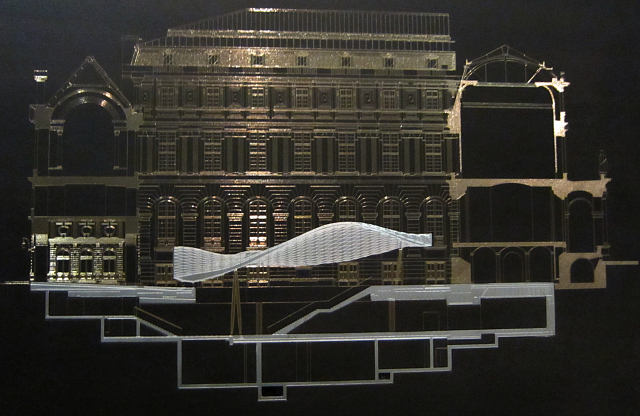Plan of the Islamic Art Wing at the Louvre