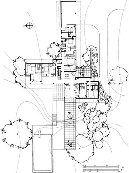 CookieCutter Modernism License Your Own Neutra House – Richard Neutra Kaufmann House Floor Plans