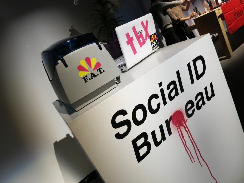 Facebook-based IDs from ___ (Image via Eyebeam)
