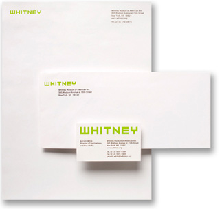 The 13-year-old logo by Abbott Miller is bye bye at the Whitney Museum. (via pentagram.com)