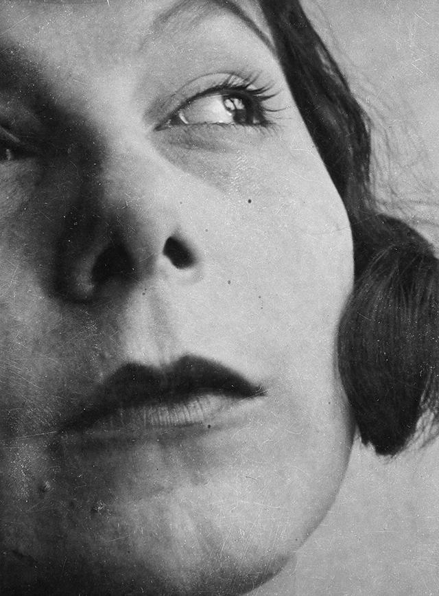 07 Laszlo Moholy Nagy Portrait Ellen Frank RICHTER