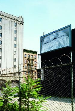 "Félix González-Torres, ""Untitled (Billboard)"" (1992), photograph on billboard"