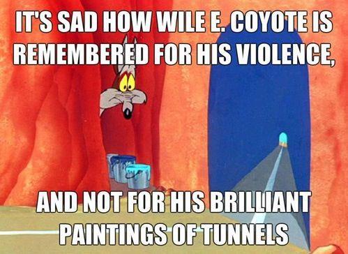 Reconsidering wile e coyotes artistic legacy 656534806650386689881818017875n colourmoves