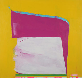 """Paul Behnke, """"A Kind of Grail"""" (2012), acrylic on canvas, 48 x 50 inches (click to enlarge)"""