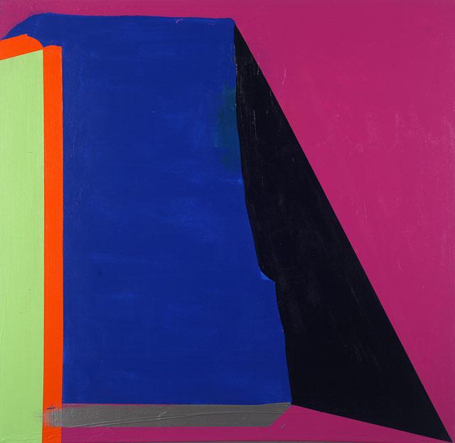 """Paul Behnke, """"d'Artagnan"""" (2013), acrylic on canvas, 48 x 50 inches"""