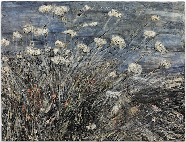 """Anselm Kiefer, """"Morgenthau Plan"""" (2012), acrylic, emulsion, oil, and shellac on photograph mounted on canvas, 113 x 149 5/8 inches (© Anselm Kiefer, courtesy Gagosian Gallery, photography by Charles Duprat)"""