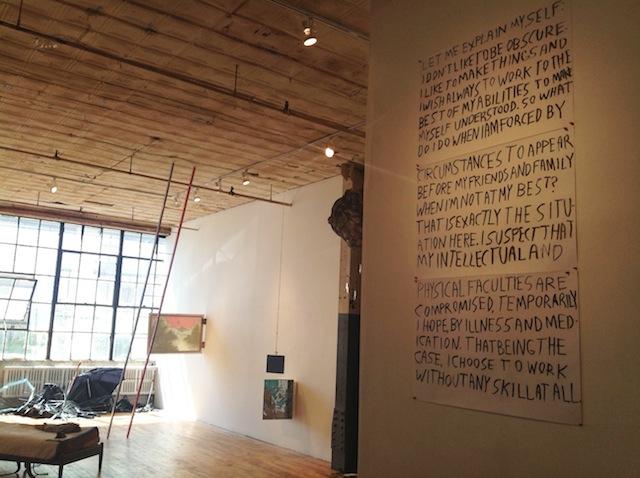 "Matt Freedman, ""The Devil Tricked Me"" (2013), installation view"