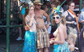 Post image for Help Save the Coney Island Mermaids, the World's Largest Art Parade