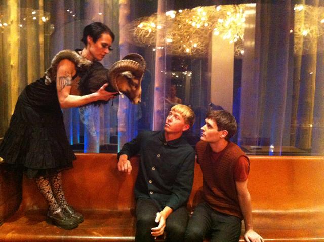 Ryder & Hazel and The Drums (courtesy TSqArts)