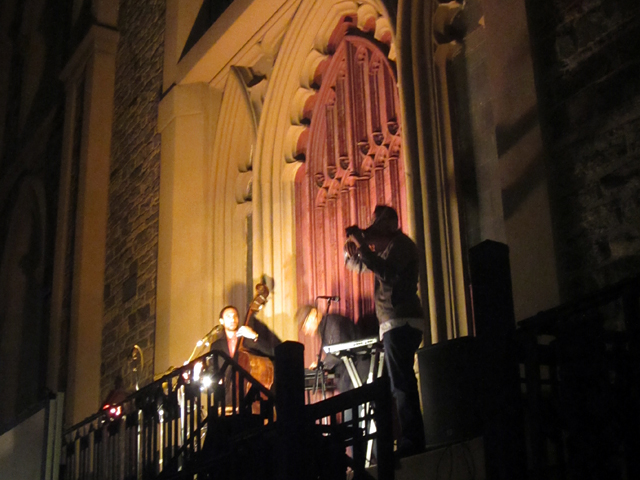 The Third Rail performing at Nuit Blanche