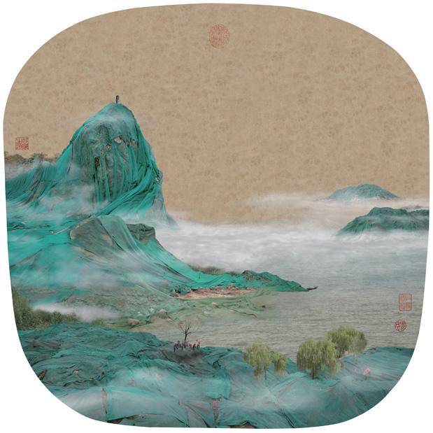 "Yao Lu, ""Early Spring on Lake Dong Ting"" (2008)"