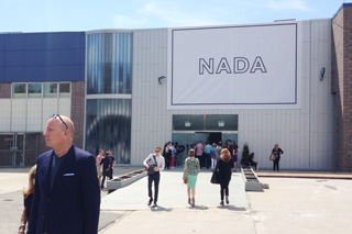The entrance to NADA New York from