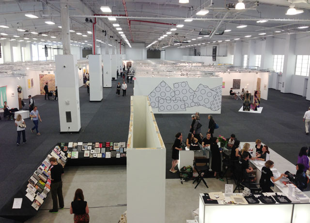 A general view of the new NADA New York on the Lower East Side (all photos by the author unless otherwise noted)