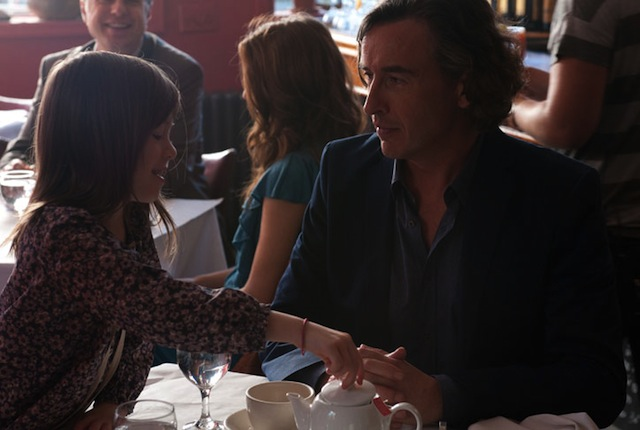 """Onata Aprile and Steve Coogan in """"What Maisie Knew"""""""