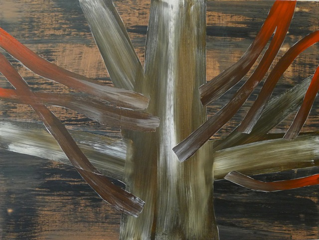 1.KatrinaBello_FierceMaple_acrylic on panel_22x28inches_2012