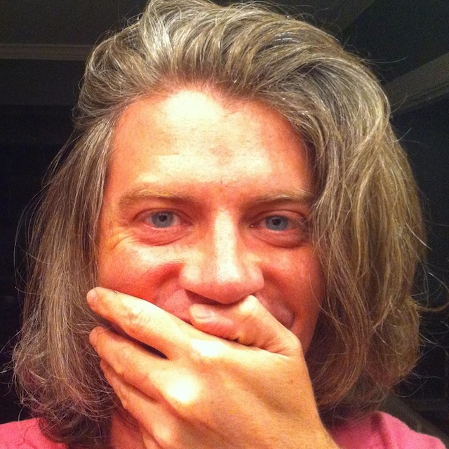 Timothy Garrison, Beardless Selfie (2013)