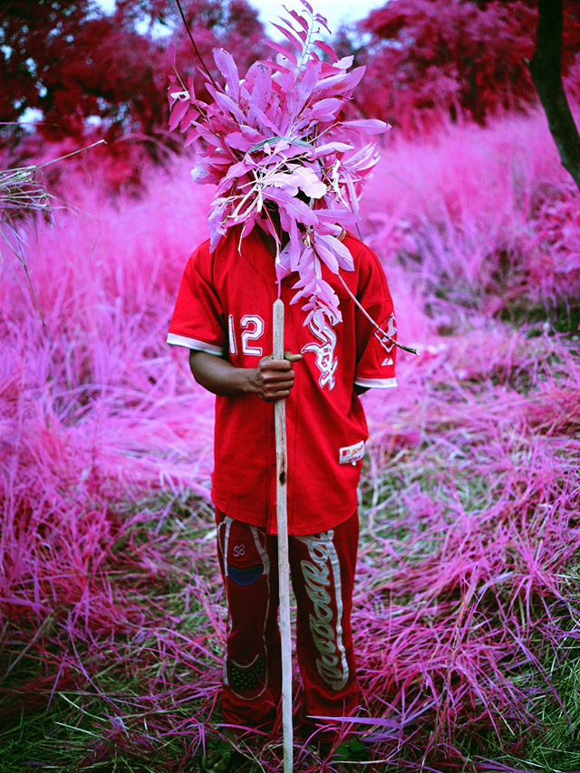 """Richard Mosse, """"Protection"""" (North Kivu, Eastern Congo, 2012), Digital C-print, 152 x 122 cm, edition of 2 (all images courtesy the artist and Jack Shainman Gallery)"""