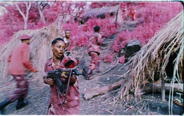 "Richard Mosse, ""The Enclave"" (2013), 16mm stills, Six screen film installation"