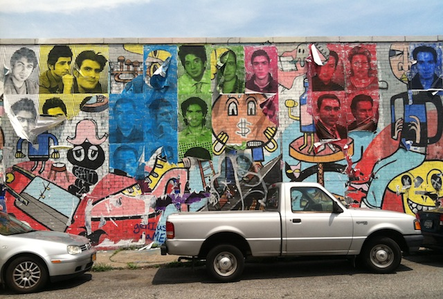 The state of the mural now. (all photos by the author for Hyperalleric unless otherwise noted)