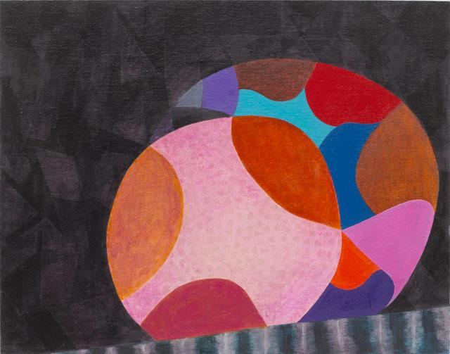 "Thomas Nozkowski, ""Untitled (9-21)"" (2012), oil on linen on panel, 22 x 28 in (courtesy Russel Bowman Art Advisory)"