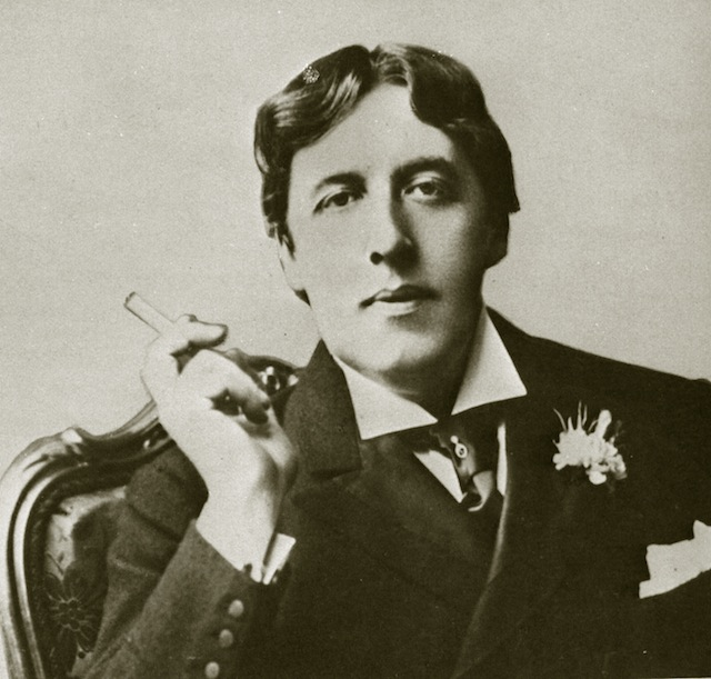 Oscar Wilde was said to wear a green carnation in his lapel (via Wikimedia)