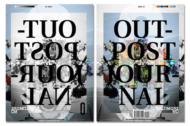 Outpost Journal, Issue 2: Baltimore, MD (courtesy Outpost Journal)