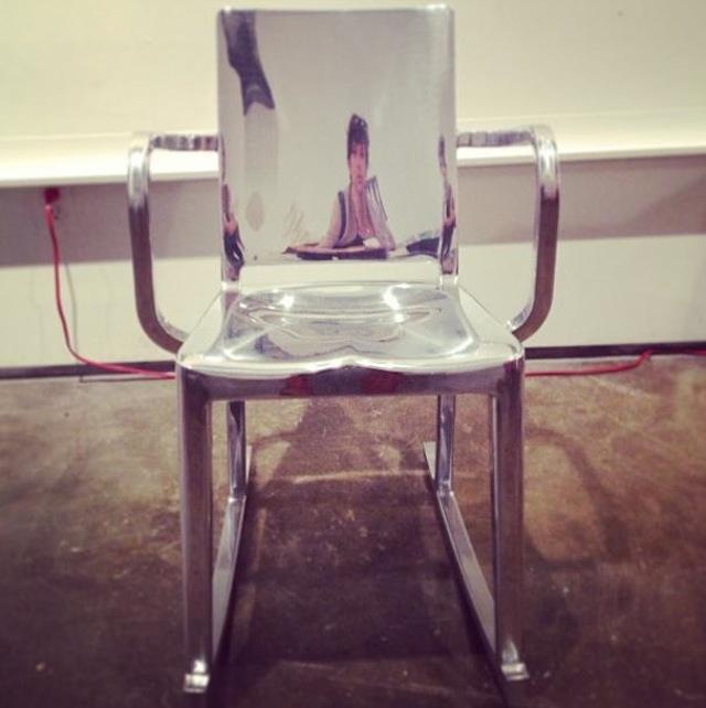 Peregrine Honig, Silver Selfie (2013)