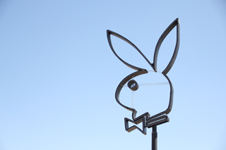 The unlit Playboy icon. (image (click to enlarge)