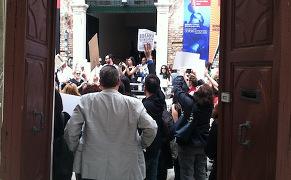 Turkish Demonstration Arsenale