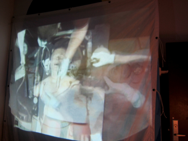 Video installation by SPCL NTRST in Silent Barn