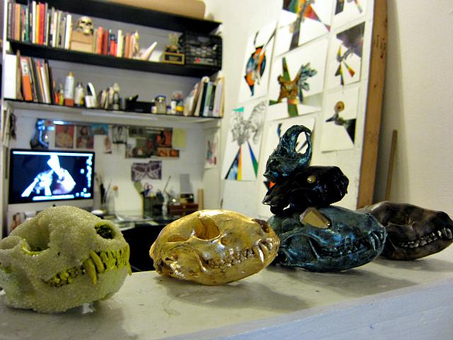Studio of Cat Glennon