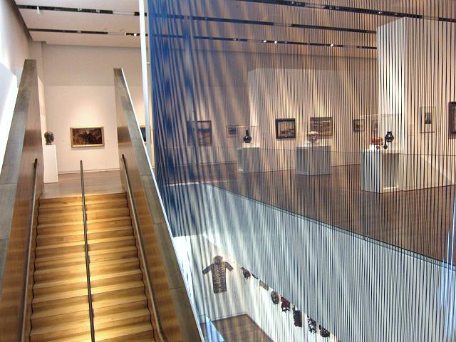 Stuart Wing of the Fred Jones Jr. Museum of Art