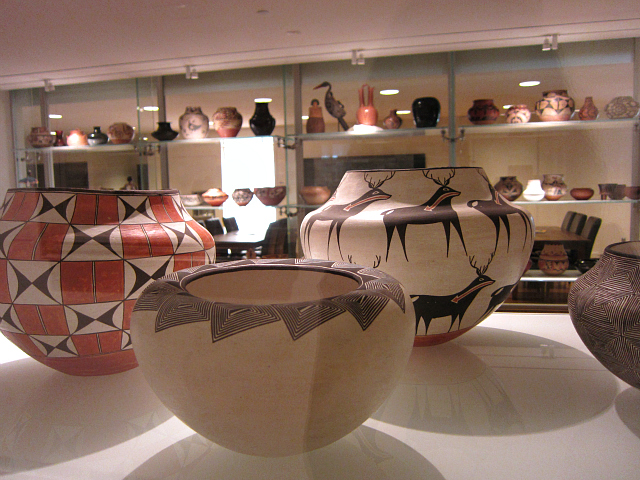 Room of pottery, which serves as a conference room