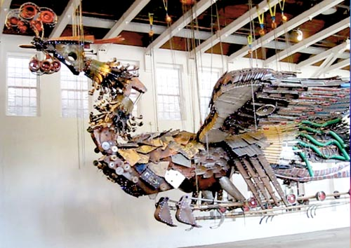 Phoenix at MASS MoCA, photo by Ellen Pearlman