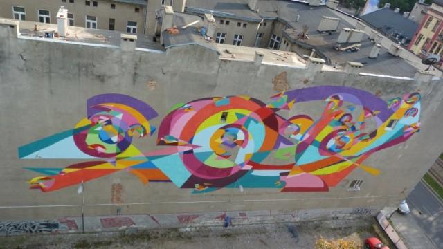 Mural by Kenor in Las Calles Hablan (2013) (Courtesy Onist Films)