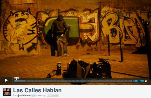 Konair painting from Las Calles Hablan (2013) (Courtesy Onist Film)